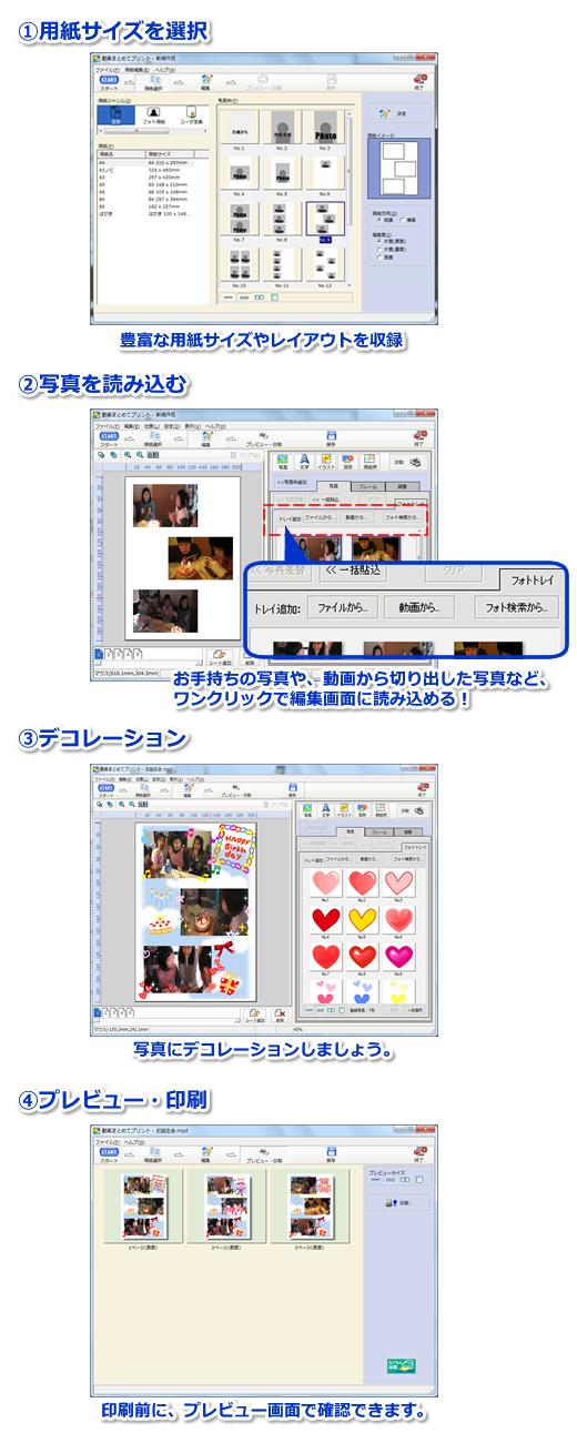 印刷方法説明画像